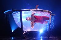 akrobatyka w wodzie