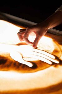 Pokazy malowania piaskiem