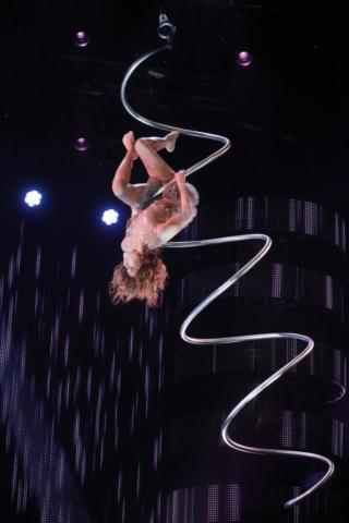 akrobacje na spirali